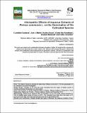 Allelopathic Effects of Aqueous Extracts of Ricinus communis L. on the Germination of Six Cultivated Species.pdf.jpg